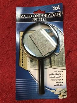 "Jumbo Magnifying Glass 7 1/4"" - Hand Held New Sewing Hobbies"