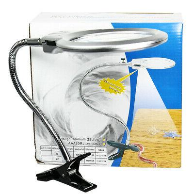 107mm Magnifying Lamp Reading Clamp