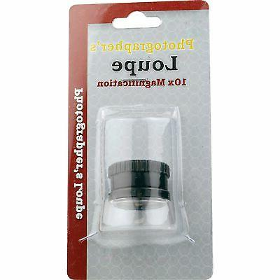 10X Magnifier Magnifying Magnification Photographers Inspection