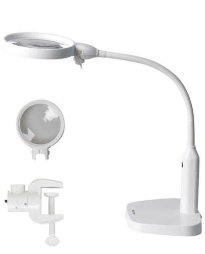 2x 5x led magnifying lamp 2 in