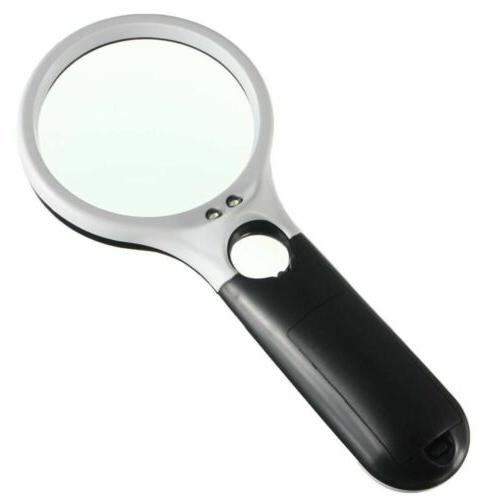 3 Handheld Reading Magnifying Glass Lens
