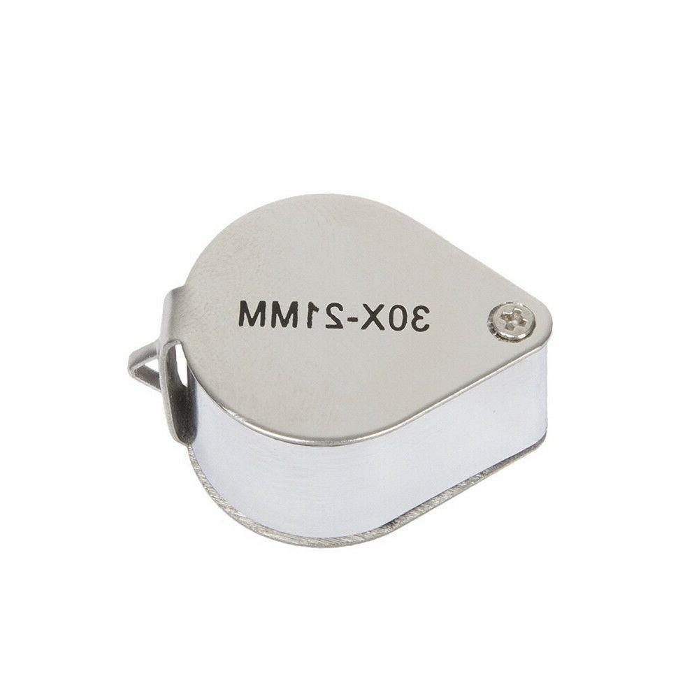 30x Magnifier Eye Loupe Loop
