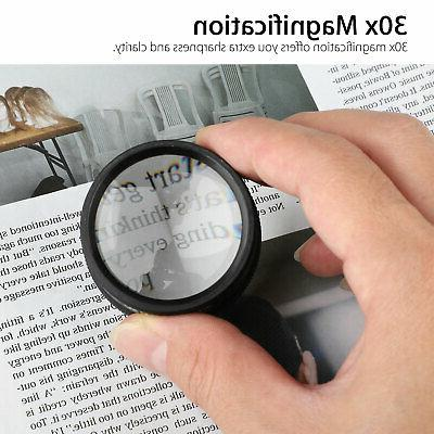 30x 40x Magnifying Eye Magnifier Jewelry US