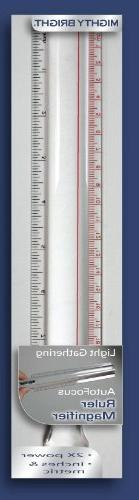 Mighty Bright 36801 Ruler Magnifier