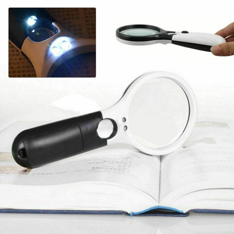 45X Handheld Magnifying with Magnifier Jewelry