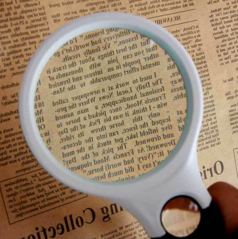 45X Magnifying Magnifier Light Reading