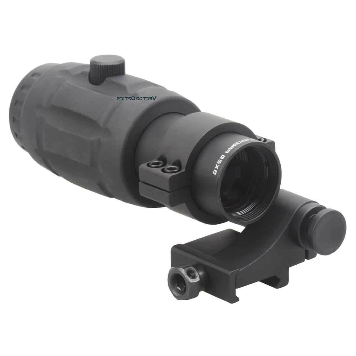 Vector Optics 5X Scope Red Sights with Flip Side Mount