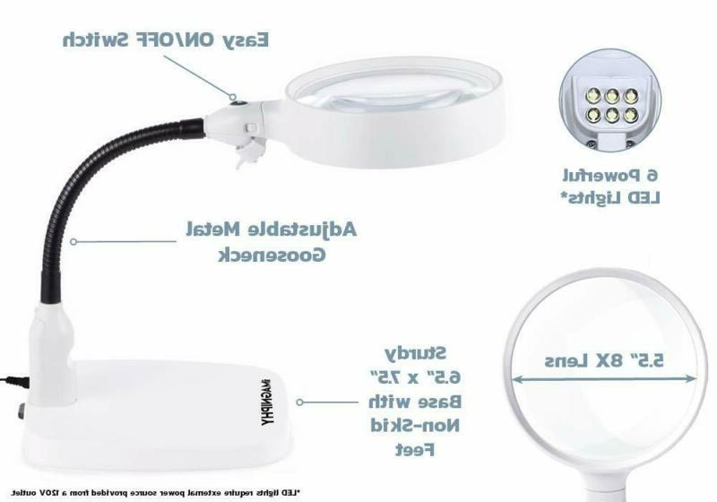 Imagniphy Lighted 5.5 Lens Sturdy Stan