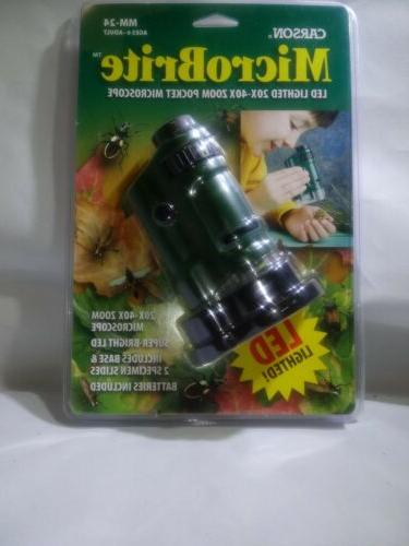 MicroBrite Pocket Microscope in Green