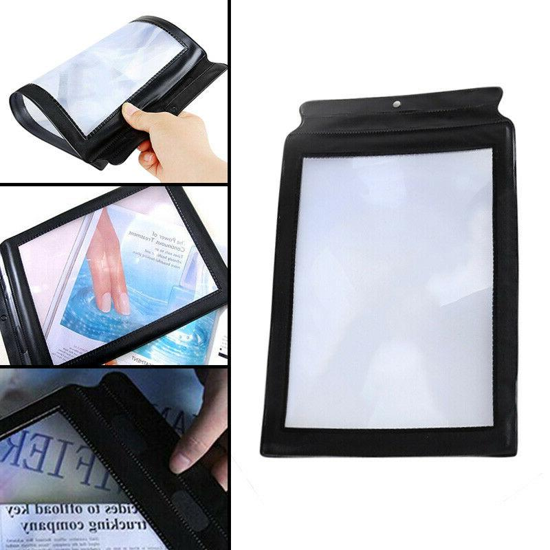 Full Page Magnifier Sheet A4 Big Large Magnifying Glass Read