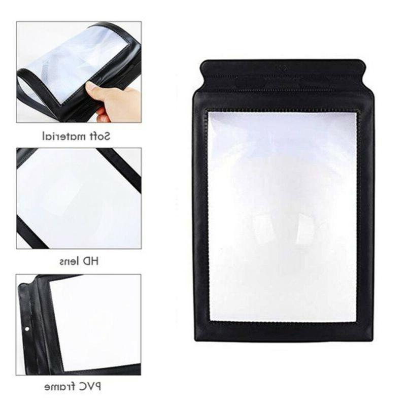 A4 Full Sheet Large Glass Reading Book Lens