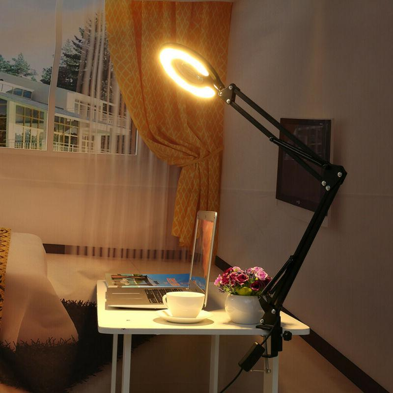 led large lens lighted lamp top desk