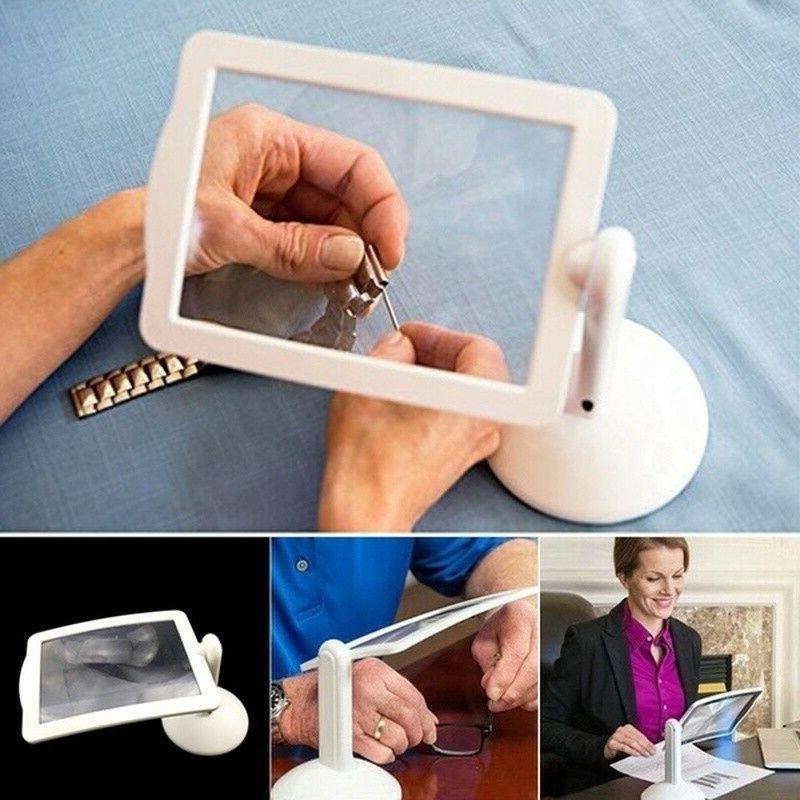 brighter led screen magnifier reading viewer hands