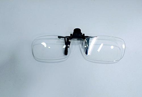 Clip On Reading 3.0, Hassle Free Lenses, Readers Magnifiers +3.00 By