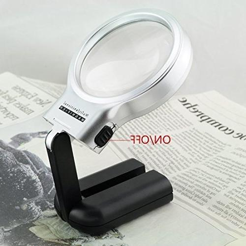 collapsible magnifier handheld magnifying glass
