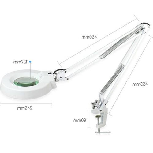 desk magnifying lamp with clamp craft glass