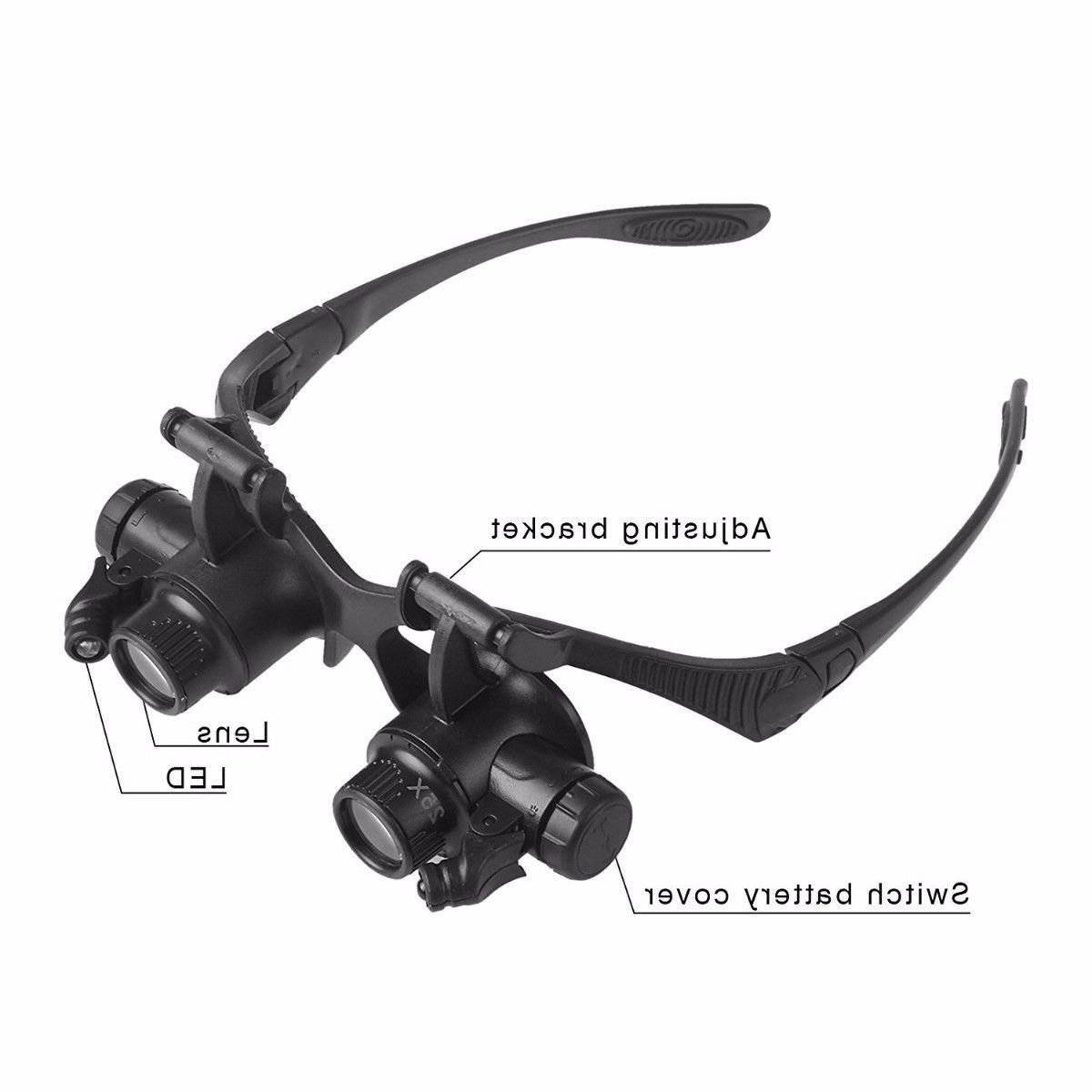 Double Repair Loupe With LED Lens