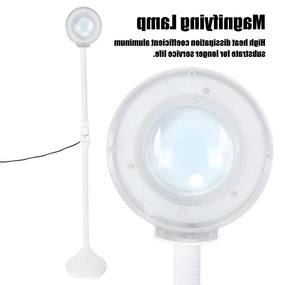 Floor Stand Tattoo LED Cold Light <font><b>Magnifier</b></font> Magnifying Manicure Tattoo