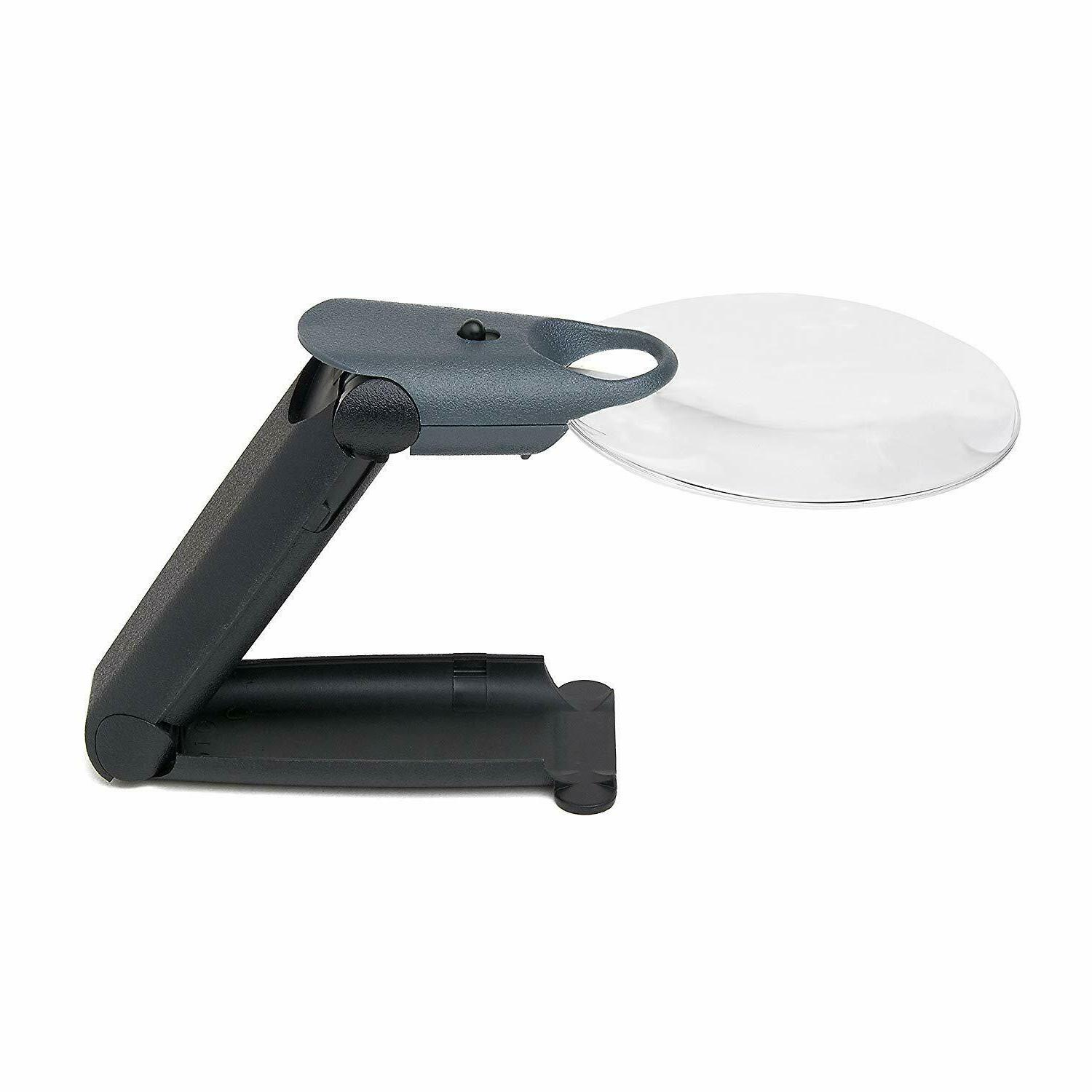 freehand 2 5x led lighted magnifier hand