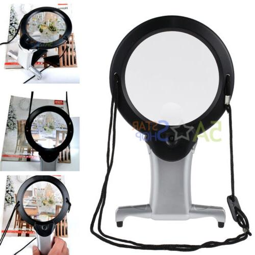 giant large hands free magnifying glass