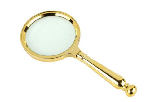 hand held classic magnifier glass 90 mm