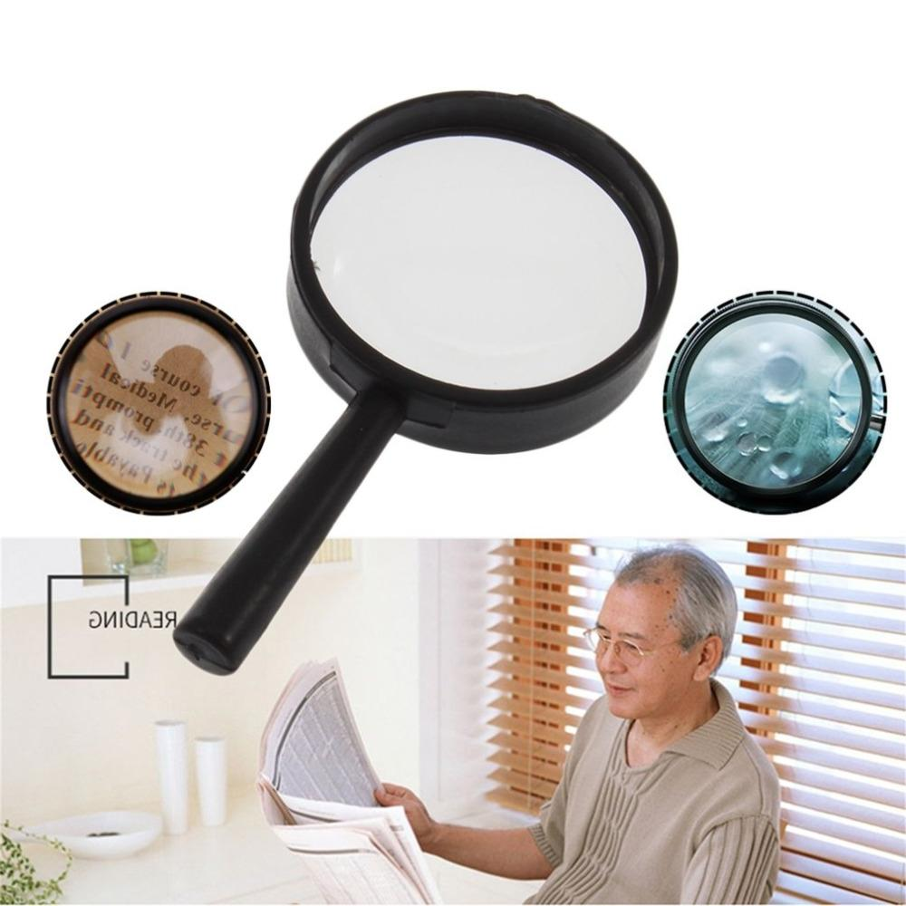 Handheld Reading <font><b>Magnifier</b></font> Hand Held Mini Pocket Magnifying