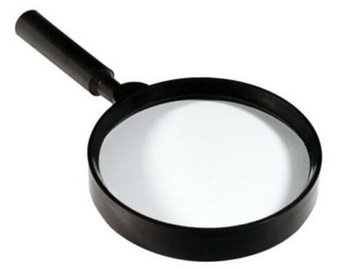 handheld round magnifying glass magnifier