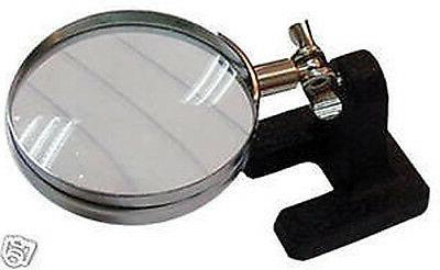 hands free table top adjustable magnifier 5x