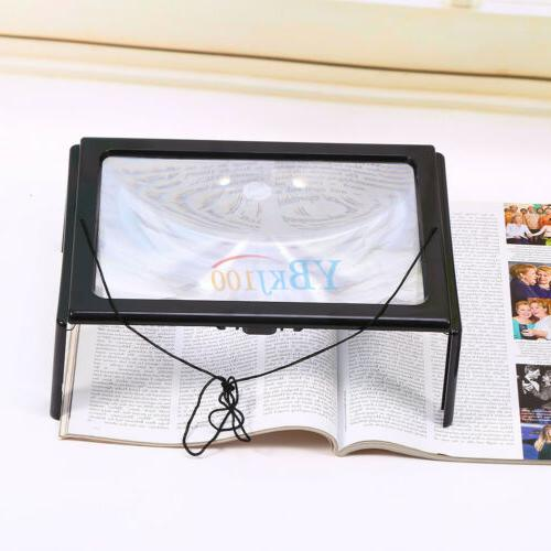 Hands Free Magnifier Reading Glass Jewelry Large