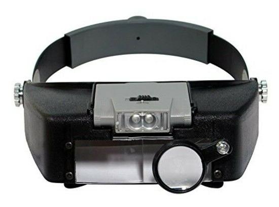Head Lamp Magnifier With Light MH1047l