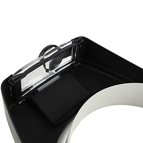 Beileshi Magnifier Illuminated Magnifying 1.5x 8.5x Magnifying Repair, or As General Aid