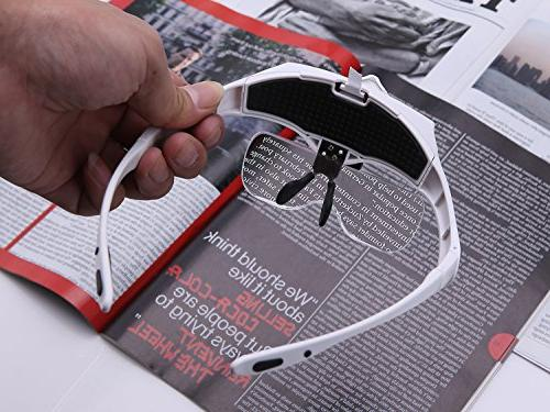 Headband Magnifying Head Mount Magnifier and Headband are Interchangeable Replaceable