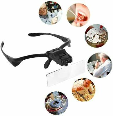 Headband Magnifying with for Work, 2