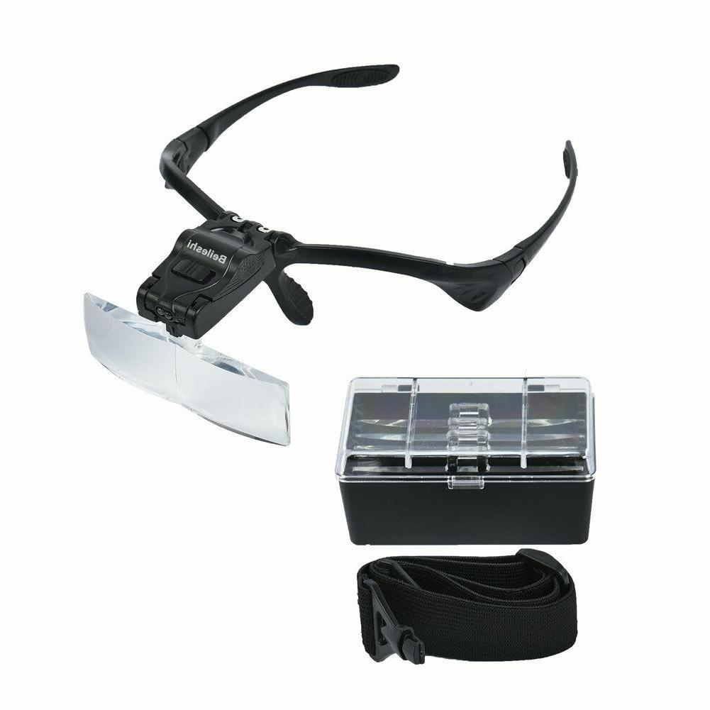 Beileshi Headhand Magnifier With 2 and are Intercha