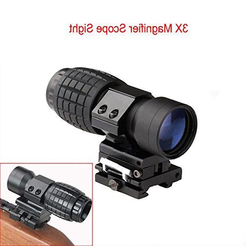 hunting tactical magnifying glass w
