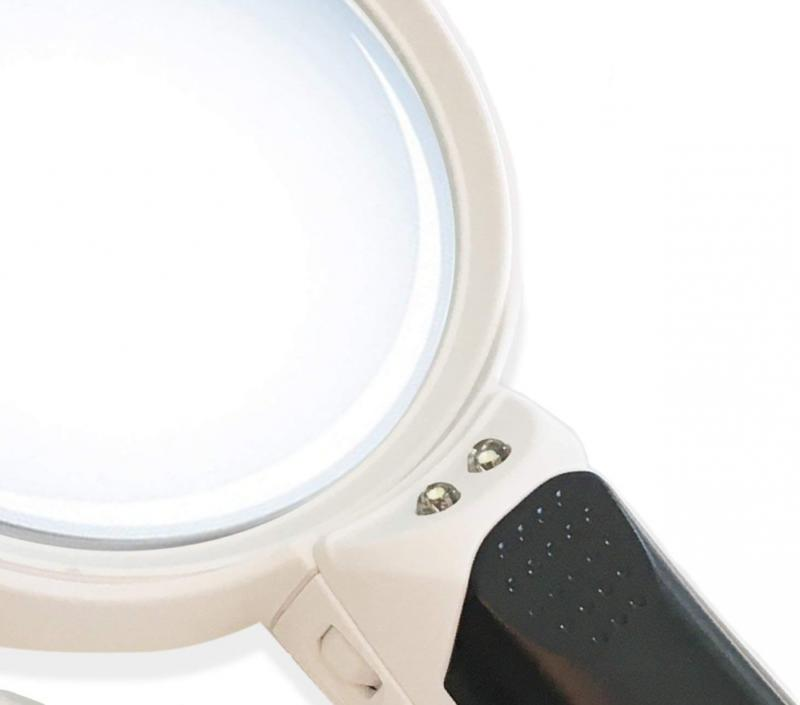 iMagniphy LED Illuminated Glass Best With Lights for S
