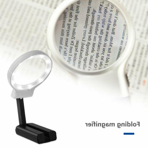 Hands 4X Magnifier for LED Light