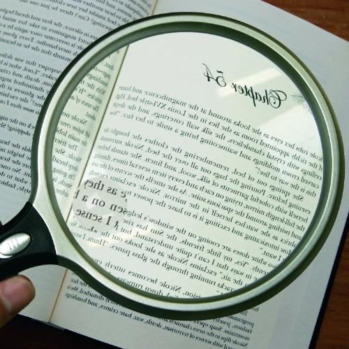 Lighted Inch Magnifier