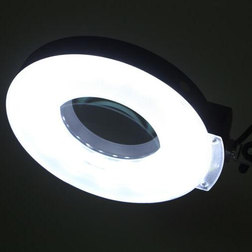 Magnifier 5x Diopter Table Light Magnifying Lens