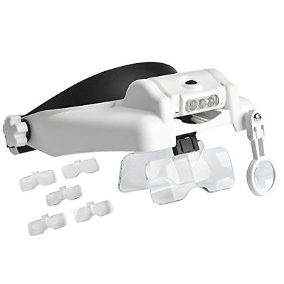magnifier with light head magnify visor handsfree