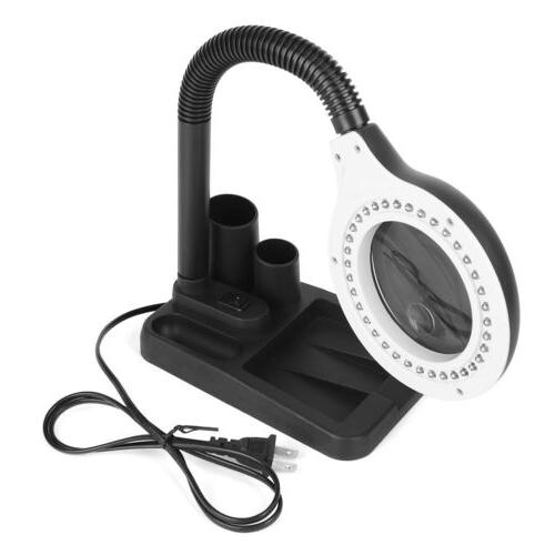 Lamp Magnifier With 40 LED Lighting -US