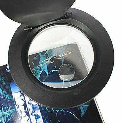 Magnifying Lamp With 5X 10X Magnifier With LED