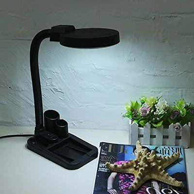 Magnifying Crafts Lamp Magnifier Loupe LED