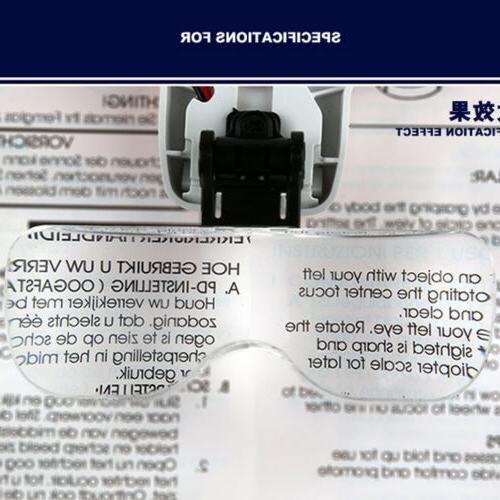 Magnifying Head Jeweler Bright Magnifier with Lens