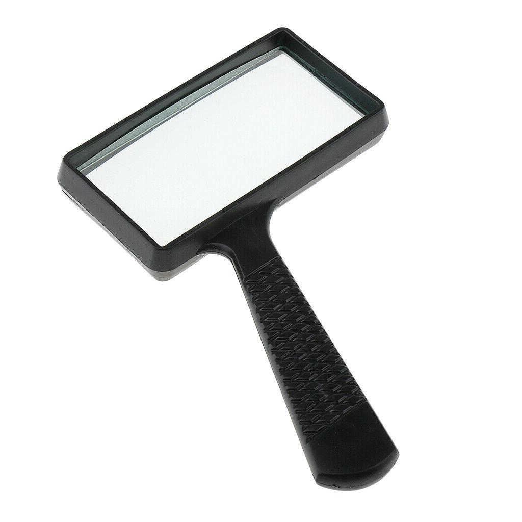 Magnifying Loupe Rectangular Magnifier For Reading Jewelry US