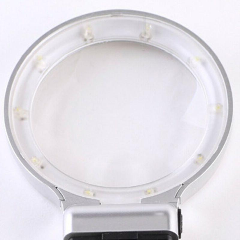Magnifying Lamp Magnifier with Light and Stand 3X USA