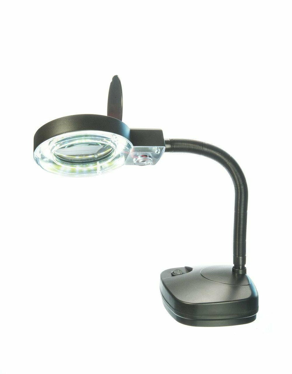 mc358b cob cob illuminated table magnifier