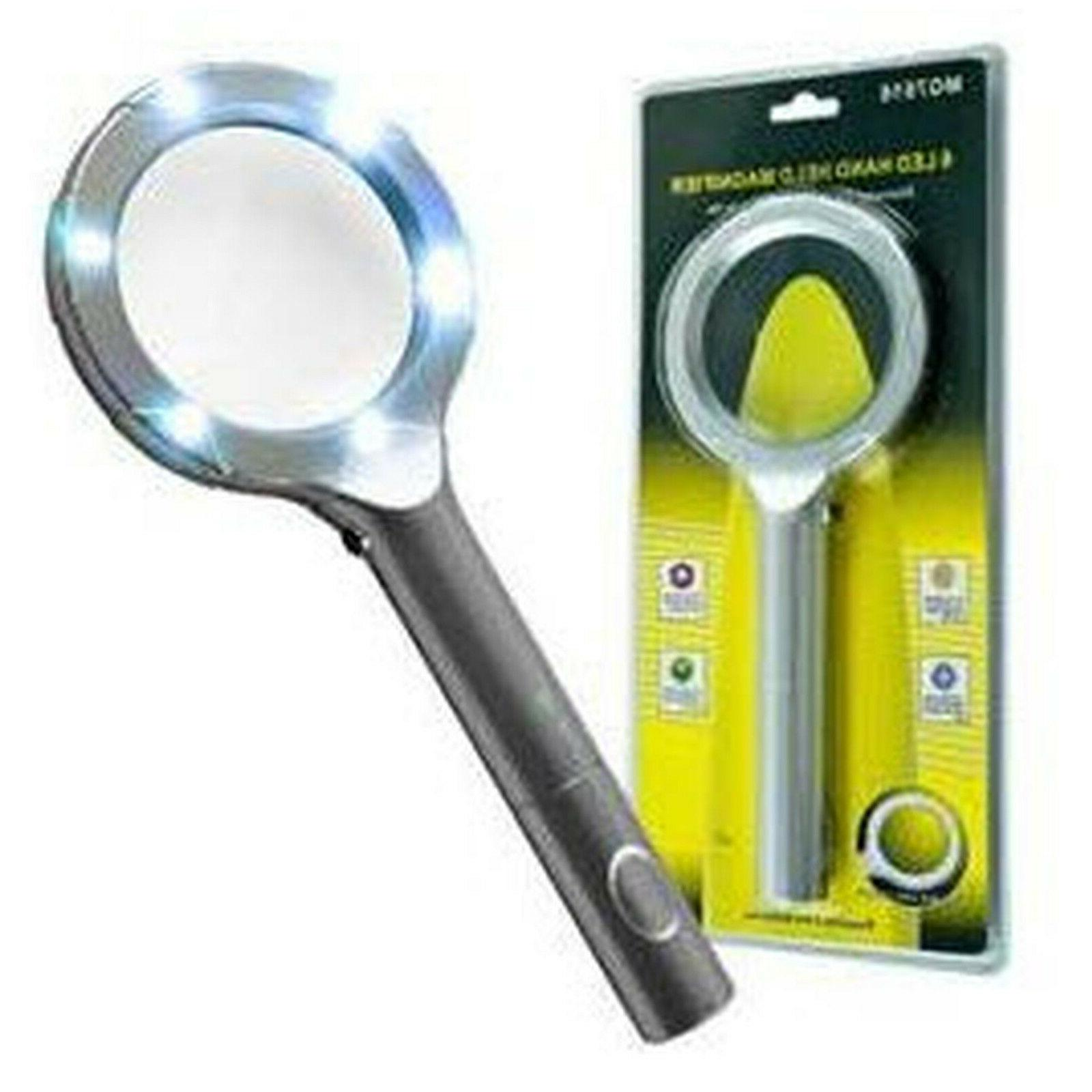HAWK Magnifying Glass Handheld Super Bright