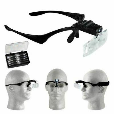 mh1051lc illuminated interchangeable magnification head