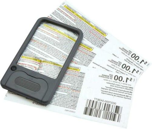Carson Multi-Power Pocket Magnifiers for Inspection,...
